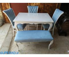 صندلی و میز غذاخوری مدل ناهید