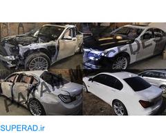 احیا و بازسازی خودرو های تصادفی پیام مرسدس
