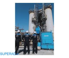 درسا بزرگترین تولید کننده تجهیزات نظافت صنعتی -مجری پروژه های کاتالیست هندلینگ و لایروبی مخازن