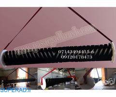 برس صنعتی سیلندری به طول 4 متر