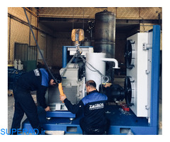 تعمیرات اساسی و بازسازی انواع کمپرسور و بلوئر (هوا و گازهای صنعتی و فرآیندی)