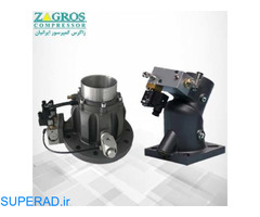 رادیاتور کمپرسور-آنلودر-فیلتر هوا- مینیمم پرشر ولو و یا شیر حداقل فشار