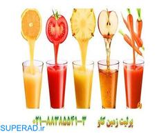 پرلیت و تصفیه آب میوه Perlite