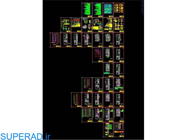 تهیه نقشه ازبیلت تاسیسات مکانیک برق معماری سازه