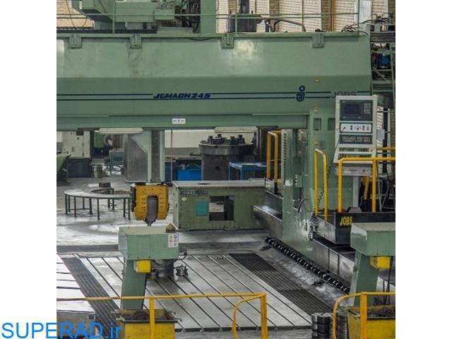 ارائه خدمات فرزکاری سنگین CNC 5 محور