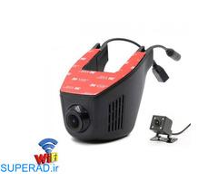 دوربین پشت آینه ای خودرو نامحسوس وای فای دار مدل mj-7