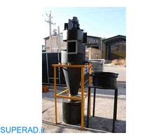 ساخت و طراحی سیکلون غبار گیر در کرمانشاه 09121865671