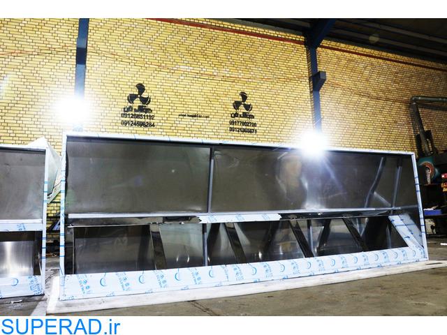 سفارش انواع هود صنعتی فست فود و رستوران در کرج 09121865671