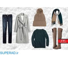 فروش عمده بافت و هودی و لباس زمستانه زنانه خارجی