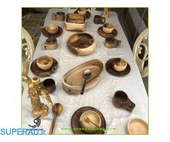 تولیدکننده ظروف چوبی آشپزخانه ، ظروف چوبی کودک ، اسباب بازی چوبی ، تزیینی و دکوری چوبی