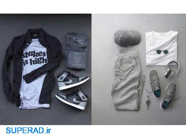 فروش عمده لباس مردانه (اسپورت - راحتی - ورزشی)