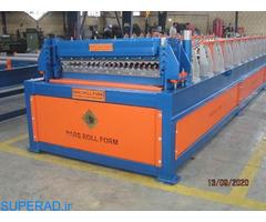 ساخت دستگاه تولید ورق سینوسی-پارس رول فرم-09121612740