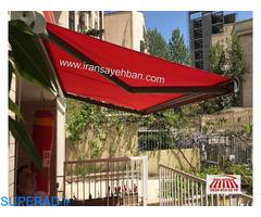 ایران سایبان/سایبان برقی/سایبان مغازه