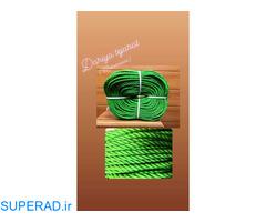 تولید انواع طناب های با کیفیت در ضخامت و رنگ های مختلف