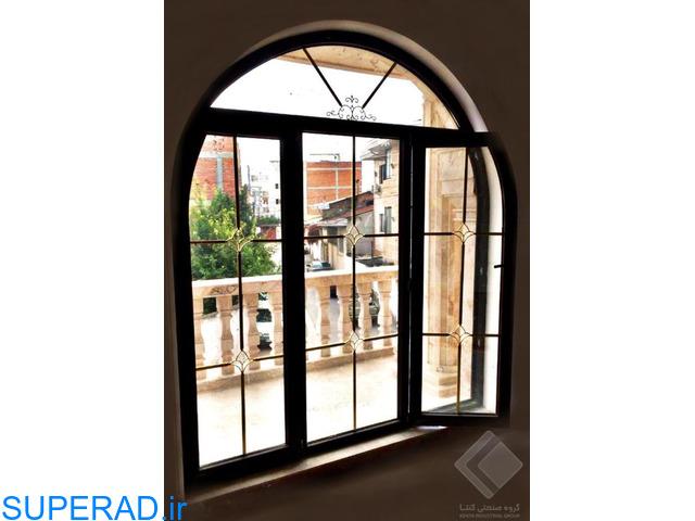 تولید انواع درب و پنجره دوجداره upvc