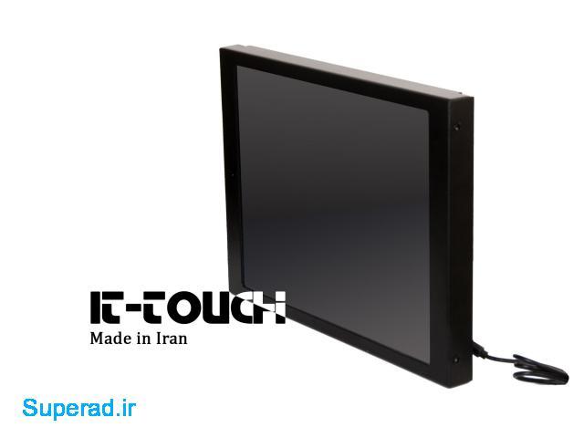 مانیتور تاچ اسکرین صنعتی با قاب فلزی it-touch
